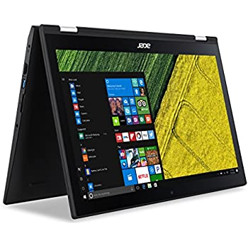 """Acer Spin 3, 15.6"""" Full HD Touch, 7th Gen Intel Core i5, 12GB DDR4, 1TB HDD, Windows 10, Convertible, SP315-51-599E"""