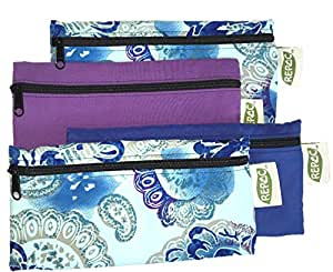 4 Pack of Reusable Food and Gear Bags