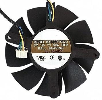 Amazon.com: dasb0815b2u tarjeta de vídeo ventilador de ...