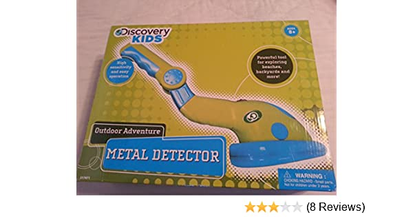 Amazon.com: Discovery Kids Outdoor Adventure Metal Detector: Toys & Games