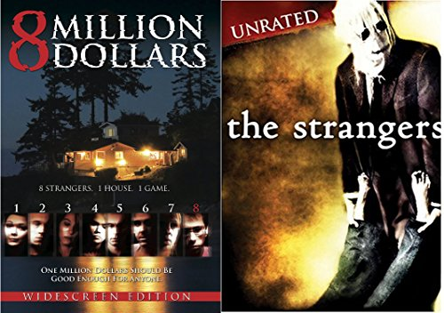 The Strangers DVD Movie & 8 Million Dollars Double Feature Horror & Suspense Thriller & Killing