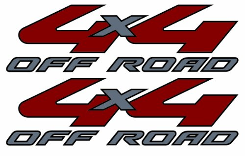 Vinylmark LLC 4x4 Decals - 2008 to 2010 Fits Ford Truck Bed (for Light Colored Trucks)