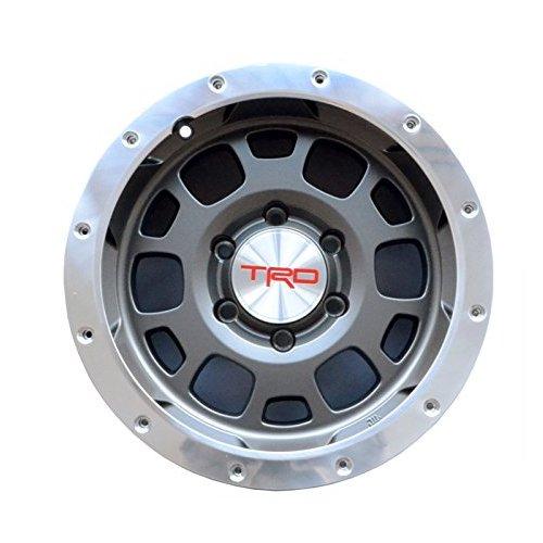 【USトヨタ 直輸入純正品】 ハイエース 200系 30mmオーバーフェンダー必須 TRD ビードロックスタイル 16インチ アルミホイール ガンメタ 1本 B01LRV2616