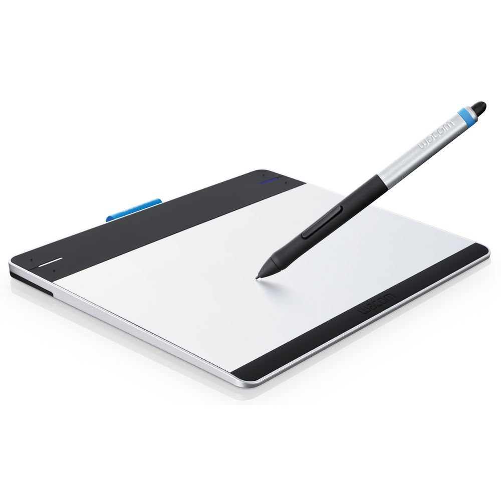Wacom Intuos Pen & Touch Tablet Small Includes Valuable Software (Certified Refurbished) by Beach Camera