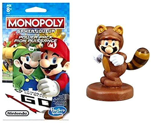 Monopoly Gamer Tanooki Mario Power Pack