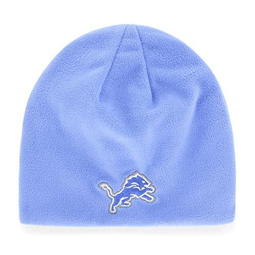 NFL Detroit Lions Trenton OTS Beanie Knit Cap, One Size, Blue Razz