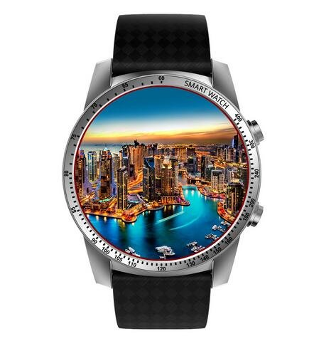 Amazon.com: Kingwear KW99 3G Smartwatch Phone Android 5.1 1.3939;39; MTK6580 Quad Core 8GB ROM Heart Rate Monitor Pedometer Smart Watch For Men: Home Audio ...