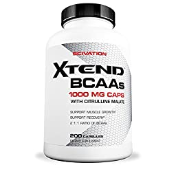 Scivation, Xtend BCAAs, Capsules, 200 Count