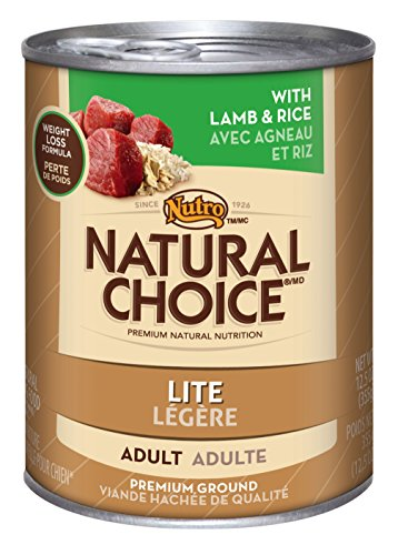 Natural Choice Lite Lamb And Rice Formula Cans, 12.5 Oz.