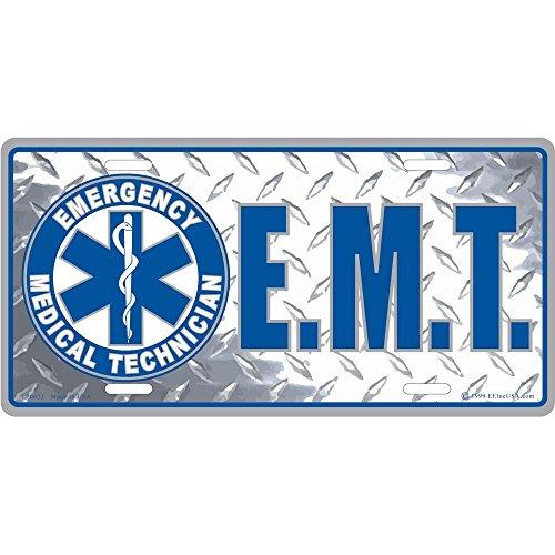 Plates License Emt (EMT Logo License Plate)