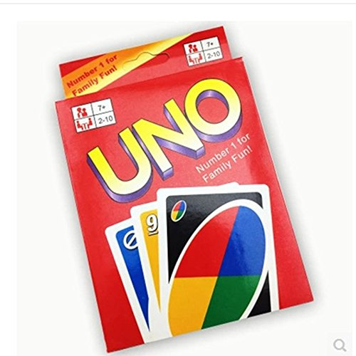 UNO Card Game Playing Card