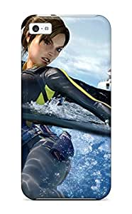 Hot Tpye Tomb Raider Underworld 2 Case Cover For ipod touch4