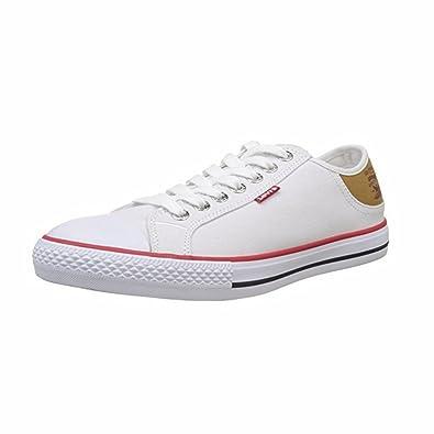 2f50dd2934310 Levi s 222984 733, Chaussures Femme - Blanc - Blanc, 41 EU EU ...