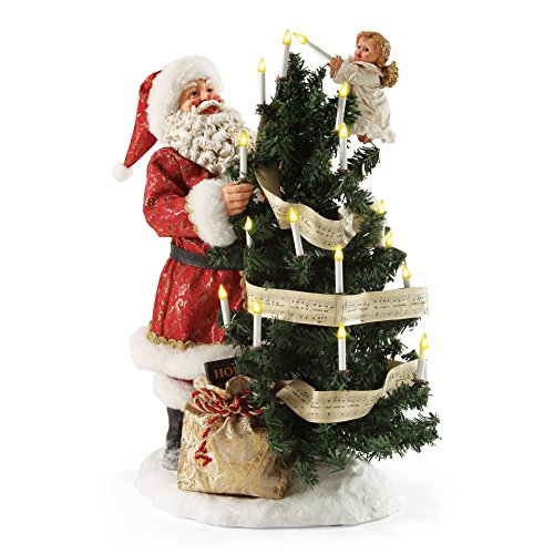 Department 56 Possible Dreams Christmas Santa Hark The Angels Figurine by Department 56