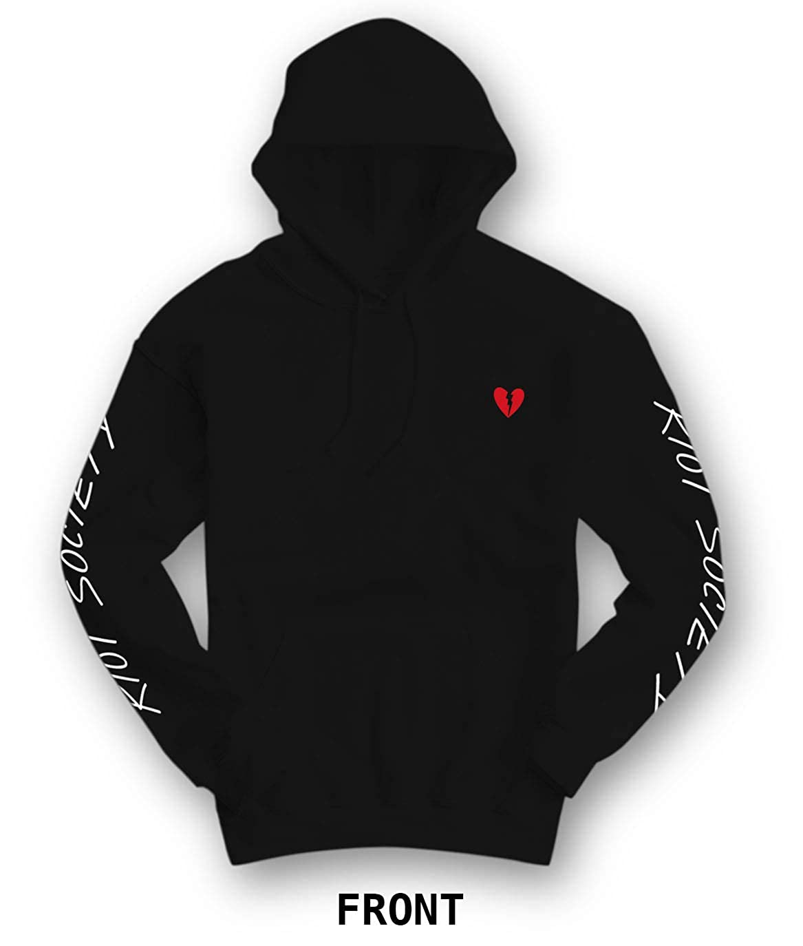 quality design df0dc 2a57b Amazon.com  Riot Society Men s Graphic Hoodie Hooded Sweatshirt  Clothing