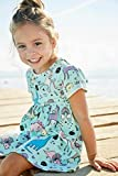 Little Girls Dinosaur Tunic Short Sleeve Summer