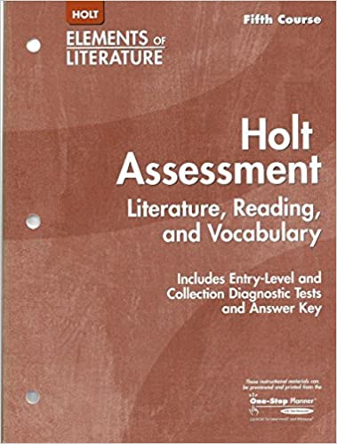 Buy Title Holt Assessment Literature Reading And
