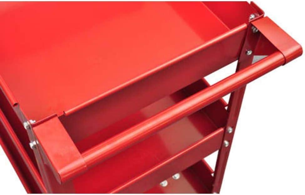 2 X Carretilla de herramienta de taller 100Kg 3 estantes: Amazon ...