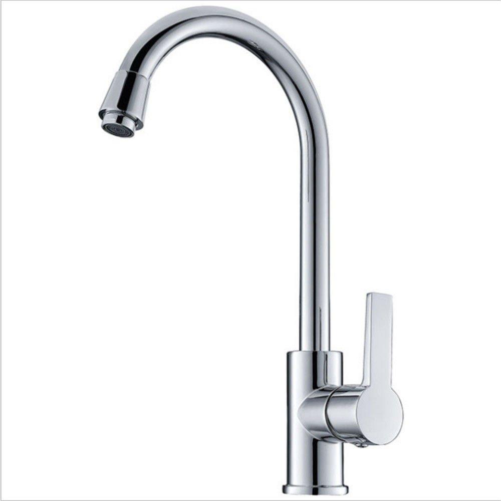 Gyps Faucet Waschtisch-Einhebelmischer Waschtischarmatur Badarmatur  der Copper Sink Mixer Mischen von heißem und kaltem Wasser Ventil Schwenken Küche Wasserhahn Messing Wasser sparende Umweltfreu