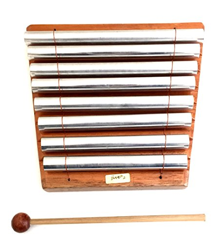 Meditation Chime Energy Chime Wood Percussion Chakra Chime, 8 Bars, Xylophone - PROFESSIONAL SOUND- JIVE FEDERAL (TM) BRAND by Jive