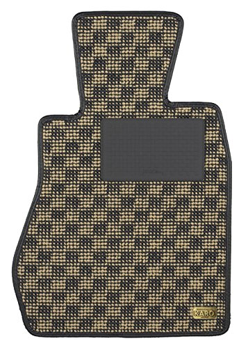 KARO(カロ) フロアマット FLAXY ブリリアントベージュ ミツビシ アウトランダーPHEV 3321(一台分) B00NT6MW1C FLAXY×ブリリアントベージュ FLAXY×ブリリアントベージュ