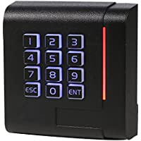 UHPPOTE 13.56Mhz Wiegand 26 Bit RFID IC Card Reader Keypad Connect for Access Control Board