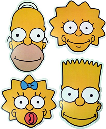 (The Simpsons - MULTIPACK - 4 Card Face)