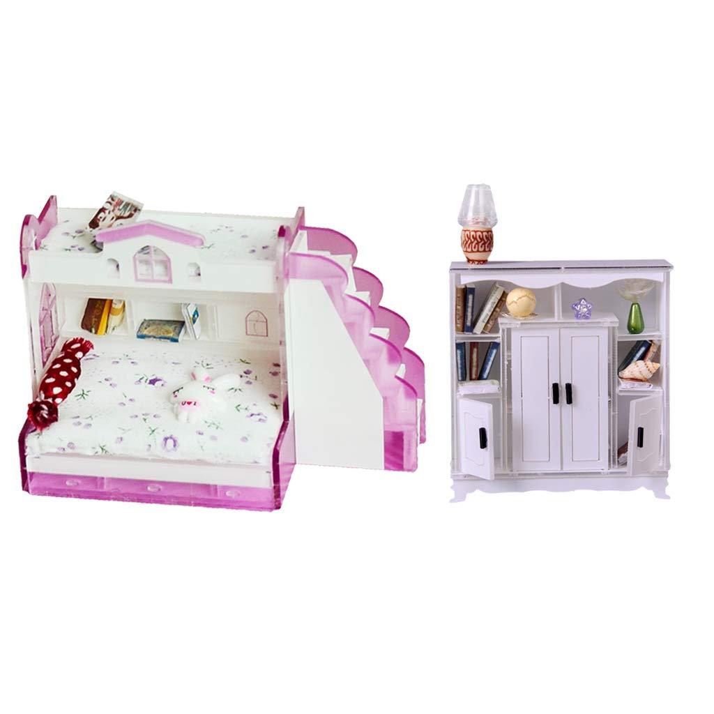Mini Letto A Castello.Armadio Accessori Per Libreria Per Mini Accessori Per Lornamento
