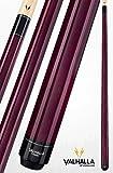 Viking Valhalla 2 Piece Pool Cue Stick VA107 (21oz, Purple)