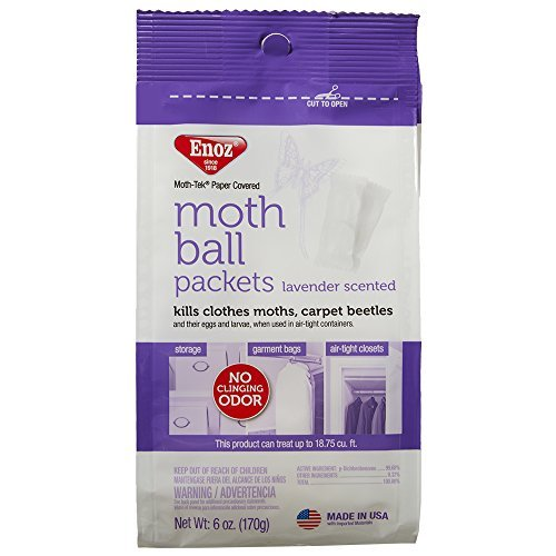 (Enoz Moth Ball Packets - Lavender Scented (3))