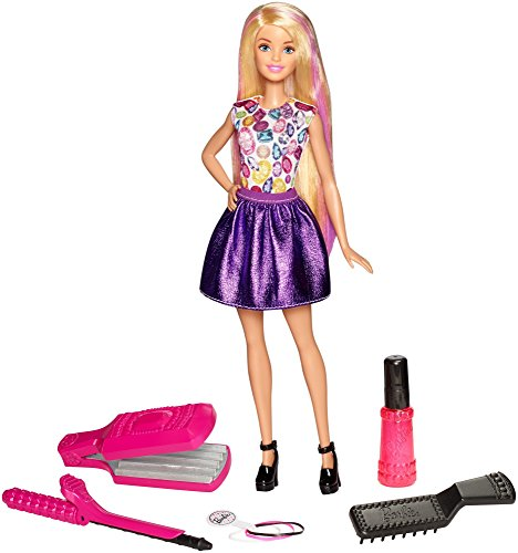Barbie D.I.Y. Crimps & Curls Doll, Blonde