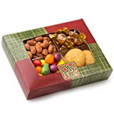Rosh Hashana Gift Package, Happy Jewish New Year, Includes traditional Honey Cookies and Honey Candies - Oh! Nuts