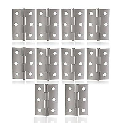 PIXNOR-Edelstahl-Scharniere-Steckverbinder-fr-Fenster-Schrank-10ST-Silber