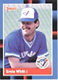 1988 Donruss #394 Ernie Whitt - Toronto Blue Jays (Baseball Cards)