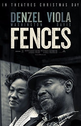 - Fences 11x17 Inch Promo Movie POSTER Viola Davis Denzel Washington