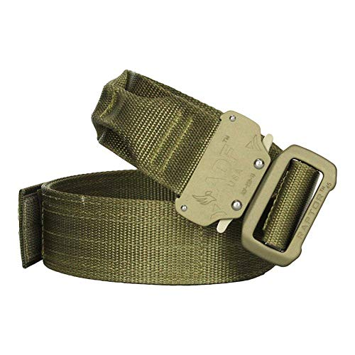 Fusion Tactical Military Police Riggers Belt Coyote Brown Small 28-33