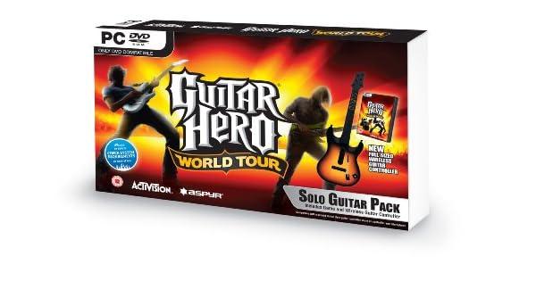 Guitar Hero: World Tour - Guitar Bundle (PC DVD) [Importación Inglesa]: Amazon.es: Videojuegos