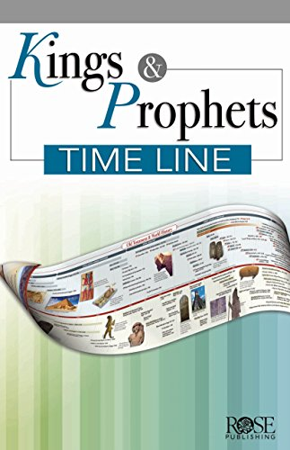 Kings & Prophets Timeline Pamphlet (Timeline Of Old Testament Prophets And Kings)