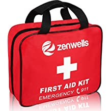 First Aid Kit Med Trauma; EMT Medical Supplies Bag Kits, Firstaidkit For Car Trips, EMS Triage Needs, Or Just Gear Stocked Survival Bags for Emergency Equipment. Your Complete Responder Organizer!