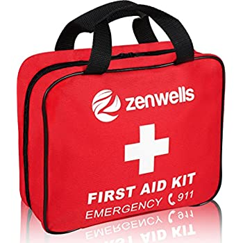 Amazon 300 piece 40 unique items first aid kit w bag by m2 premium first aid kit trauma bag 192 pieces with bonus survival gear ebook best for emergencies at home car travel office outdoors boat fandeluxe Gallery