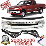 Parts N Go 2000-2006 Tundra Front Bumper Bracket Driver /& Passenger Side Left//Right Hand 521420C010 TO1066127