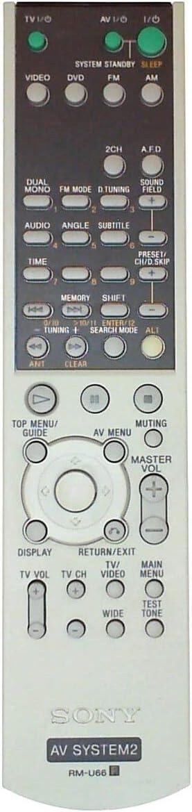 REMOTE CONTROL RM-U66 Sony SONY 147858111