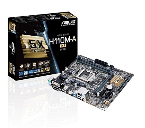 ASUS 90MB0R60-M0EAYC Intel H110 Micro ATX DDR4-SDRAM Motherboard