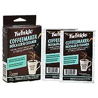 Mr. Coffee Coffeemaker Cleaner para todas las cafeteras de goteo automáticas, caja de 2 onzas (paquete de 9)