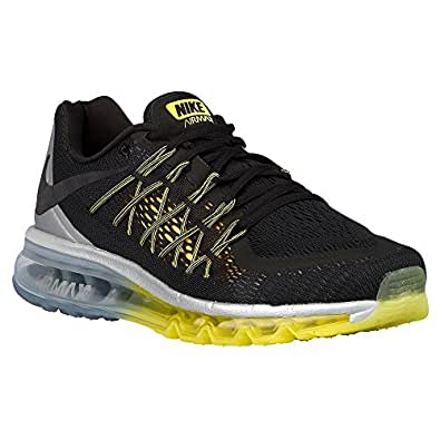 Amazon.com | Nike Mens Air Max 2015 Black/Sonic Yellow