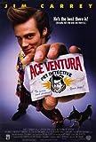 Ace Ventura: Pet Detective Poster 27x40 Jim Carrey Dan Marino Courteney Cox Arquette