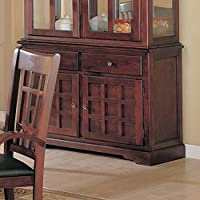 Coaster 100504B-CO Rich Cherry Finish Server Sideboard