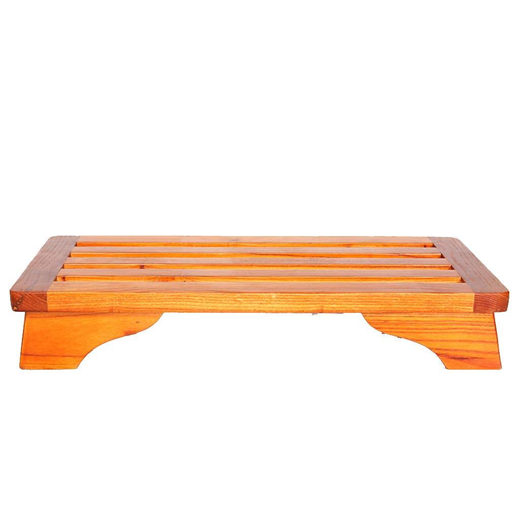 【GINGER掲載商品】 ソリッドウッドベンチバスルームスツールバスルームノンスリップベンチシャワー専用フットスツールシャワースツール (色 (色 : : オレンジ) オレンジ オレンジ B07DFKRV9B, 北海道フードファクトリー:b627d011 --- kilkennyhousehotel.ie
