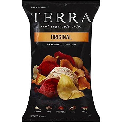 TERRA Original Real Vegetable Chips, Sea Salt, NON GMO, 15 oz Bag