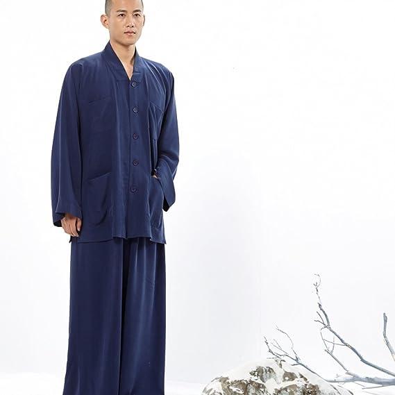 Amazon.com: ZanYing Cupro - Traje de seda para hombre: Clothing